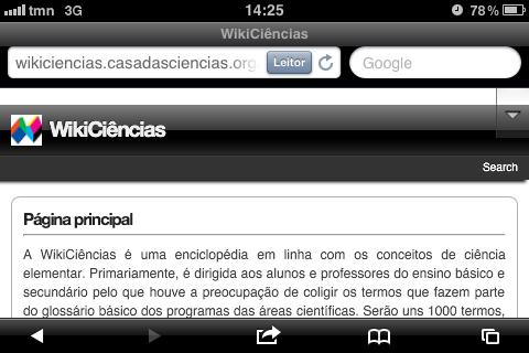 WikiCiências